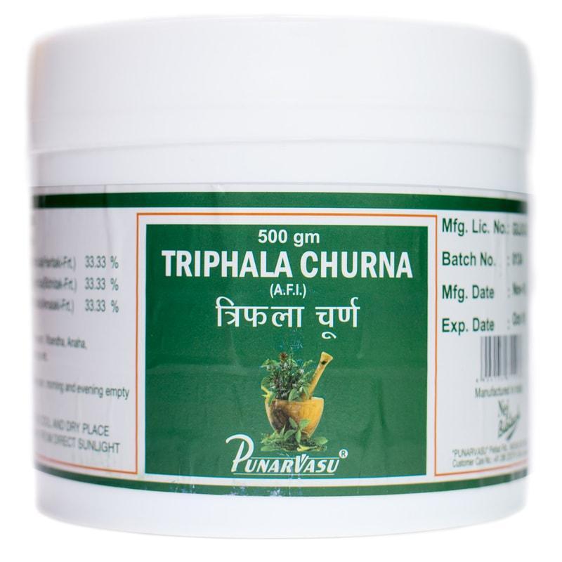 Трифала чурна / Triphala churna - омоложение, очищение, похудение, улучшает работу печени, кишечника,