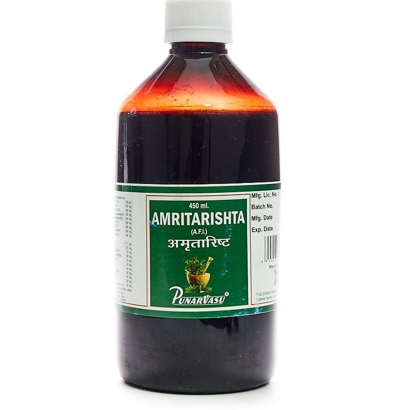 Амріта аришта / Amrita arishta - Усунення запальних процесів і поліпшення роботи печінки - Пунарвасу -