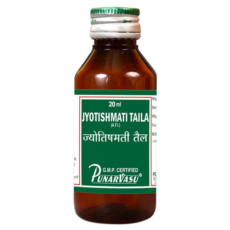 Джотишмати таїв / Jyotishmati taila - для пам'яті, уваги і сну - Пунарвасу - 25 мл
