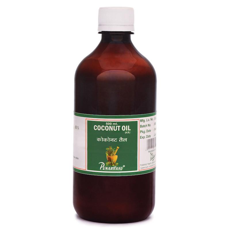 Кокосове масло / Coconut oil - догляд за шкірою, волоссям - Пунарвасу - 500 мл