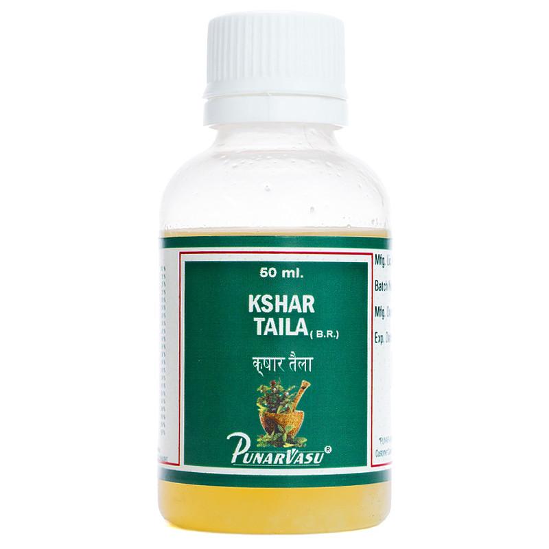 Кшар таїв / Kshar taila - захворювання вуха, отит, погіршення слуху - Пунарвасу - 50 мл