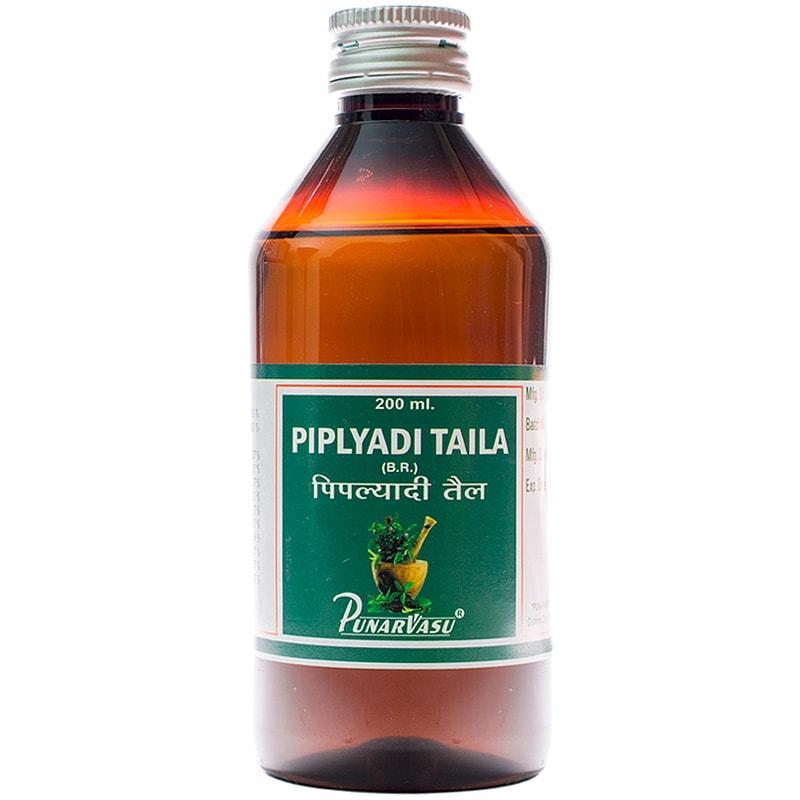 Пипальяди таил / Piplyadi taila - при геморрое, масло для клизм, балансирует 3 доши - Пунарвасу - 200 мл