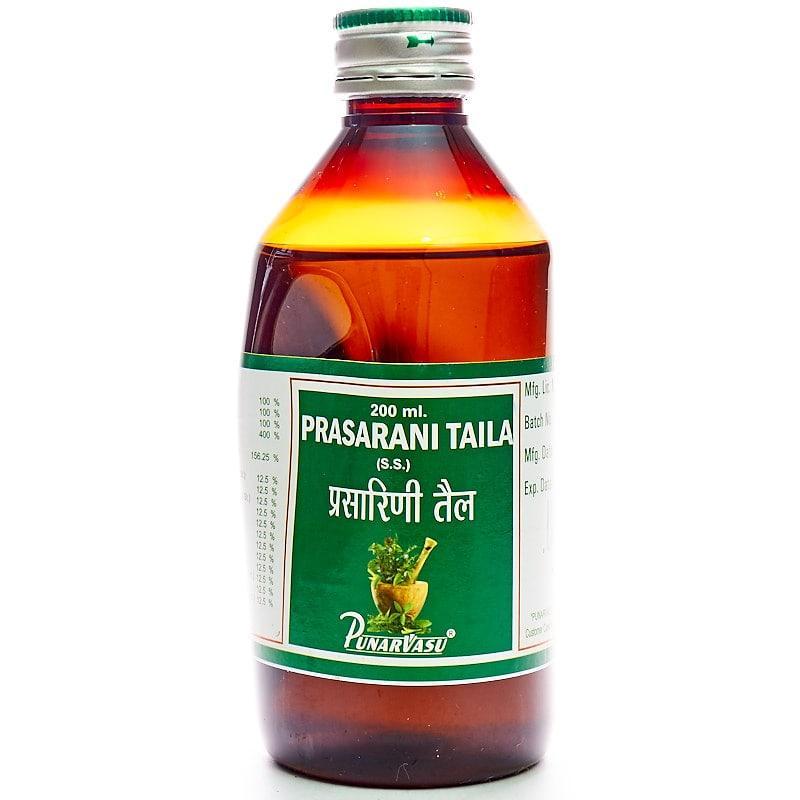 Прасарини таїв / Prasarani taila - ревматизм, артрит, параліч - Пунарвасу - 200 мл