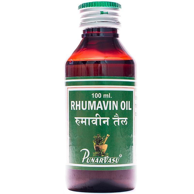 Реумавин масло / Rhumavin oil - артриты, боли в суставах и мышцах - Пунарвасу - 100 мл
