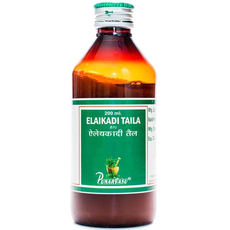 Элаикади таил / Elaikadi taila - охлаждающее для кожи, при дерматитах -Пунарвасу - 200 мл