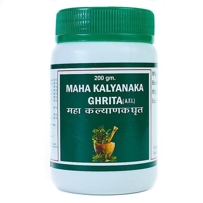 Махакальянака гхрита / Maha kalyanaka ghrita - женский тоник, омолаживает, устраняет тревожность - Пунарвасу -