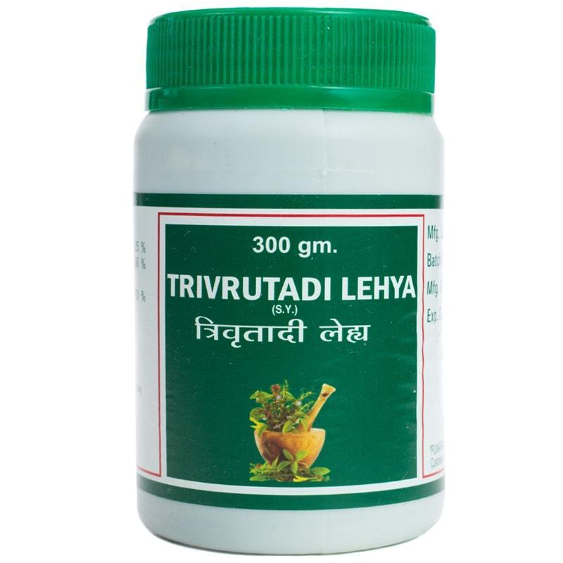 Триврут лехья (джем) / Trivrutadi lehya - м'яке натуральне проносне - Пунарвасу - 300 гр