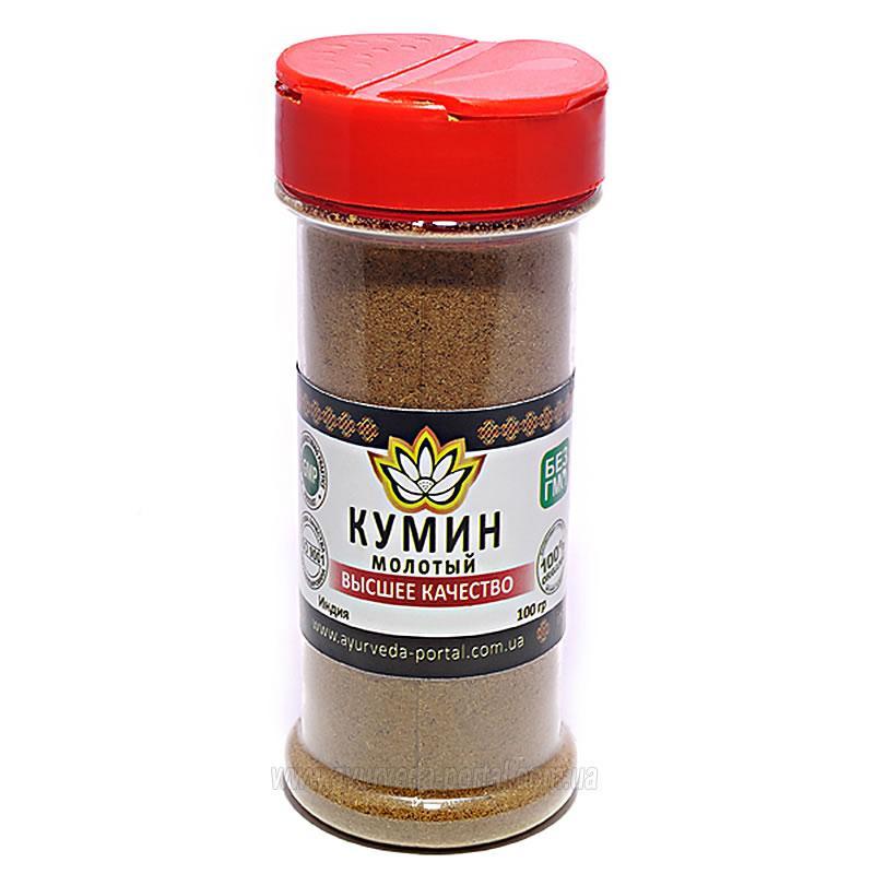 Кумин молотый (индийский тмин) - Пунарвасу - 100 гр