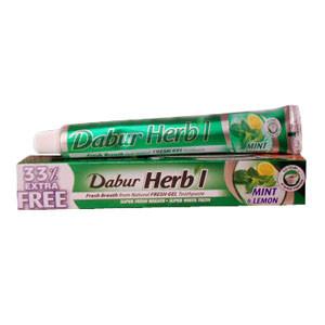 Зубна паста М'ята і Лимон / Mint - Lemon - Дабур - 80 гр