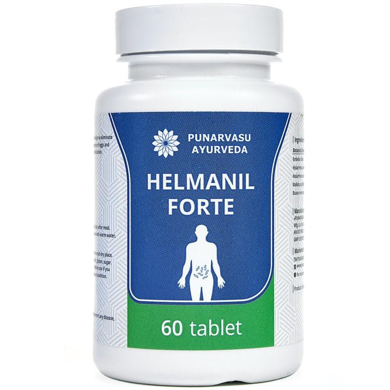 Гельманил форте / Helmanil Forte - високоефективне антигельмінтну засіб - Пунарвасу - 60 таб