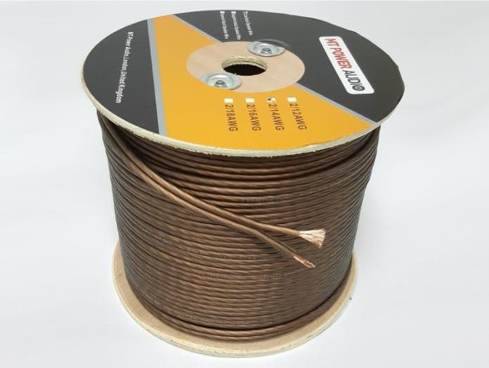 Акустический кабель MT-Power Coal Black Speaker Wire 2-18 AWG 2x1 mm2