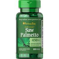 Препарат для мужского здоровья Puritan's Pride Saw Palmetto 450 мг (100 капс)