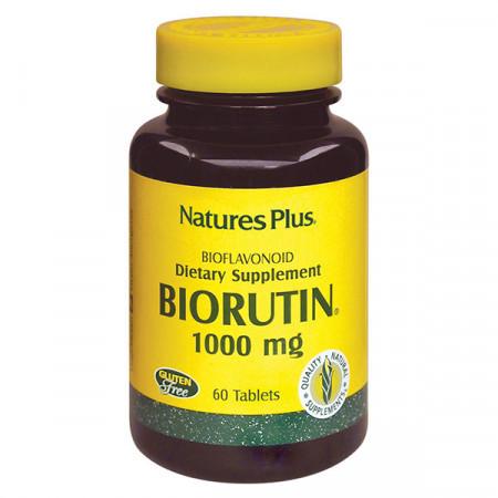Рутин Natures Plus BioRutin 1000 мг (60 таблеток)