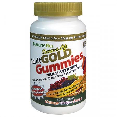 Витамины для Взрослых Микс Natures Plus Source of Life Gold Gummiers (60 таблеток)