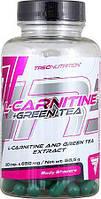 Л-Карнитин Trec Nutrition L-CARNITINE + GREEN TEA (90 капс)