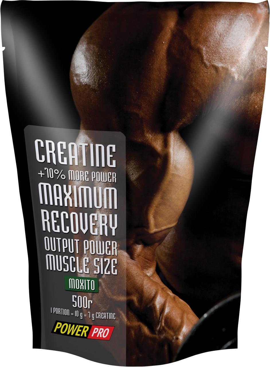 Креатин Power Pro Creatine Maximum Recovery with flavour (500 г)