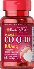 Антиоксидант для поддержки сердечно-сосудистой системы Puritan's Pride Q-SORB Co Q-10 100 mg (60 капс)