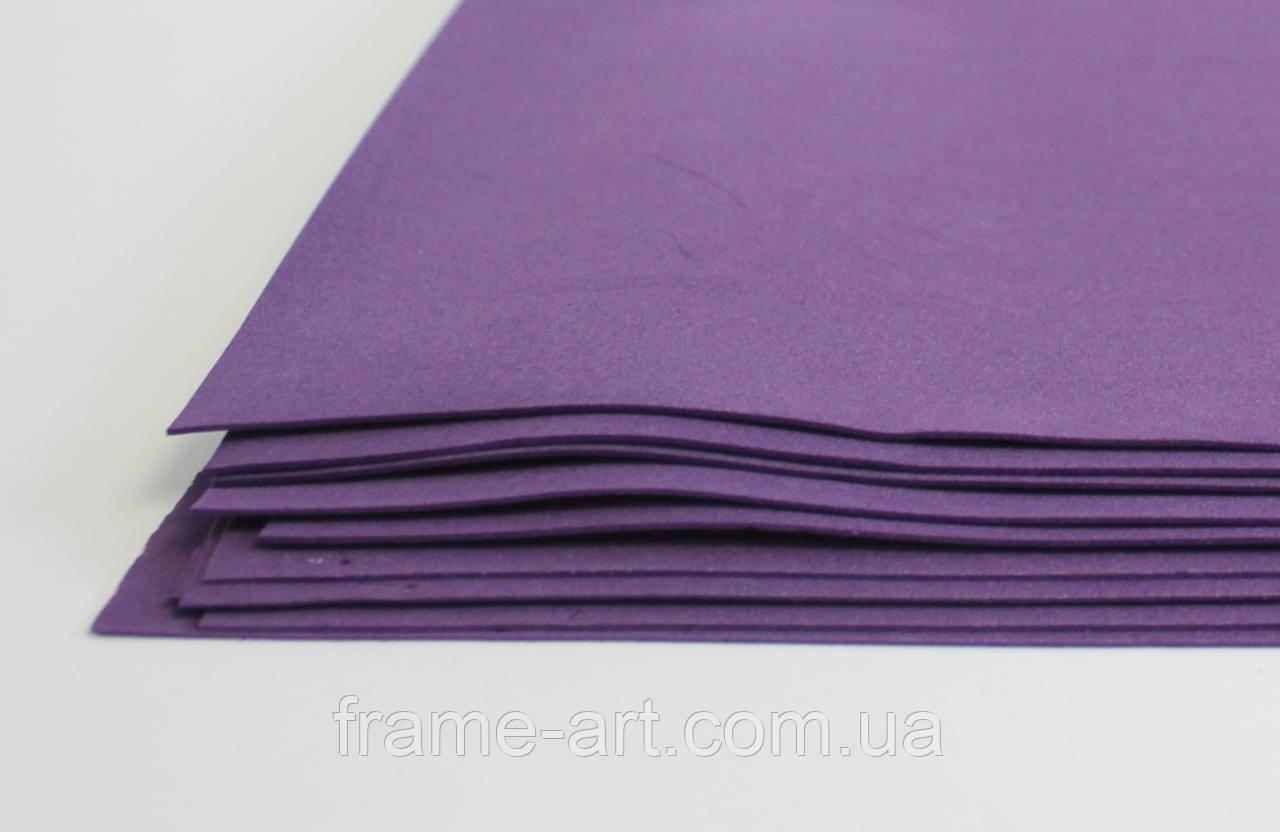 Фоамиран китайский 2мм 20*30см фиолетовый 570445
