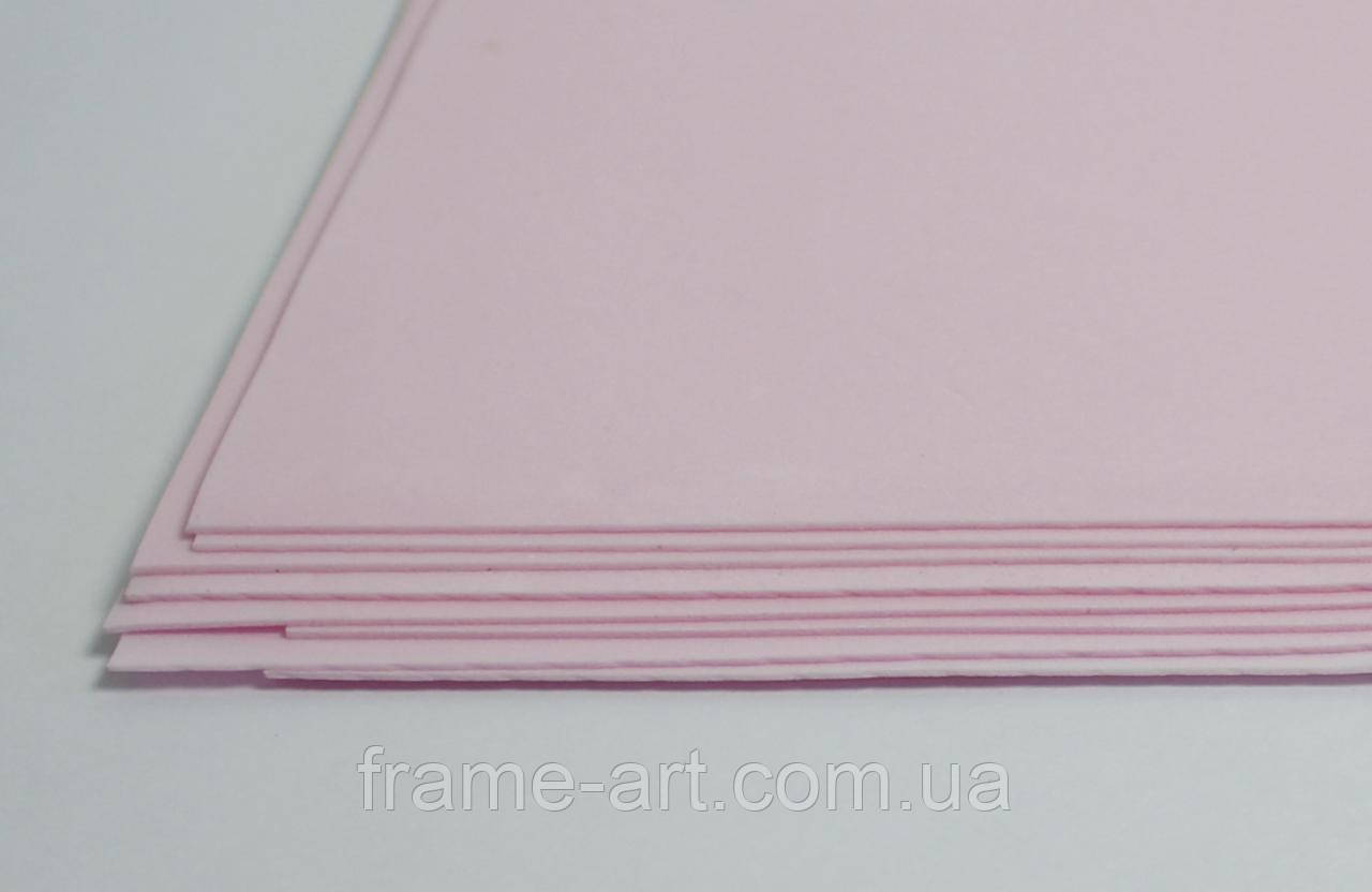 Фоамиран китайский 2мм 20*30см светло-розовый 570445