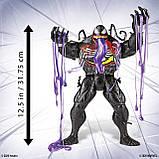 Большая фигурка Веном 30 см со слизью Venom Ooze Figure with Ooze-Slinging Action, Hasbro Оригинал из США, фото 6