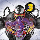 Большая фигурка Веном 30 см со слизью Venom Ooze Figure with Ooze-Slinging Action, Hasbro Оригинал из США, фото 5