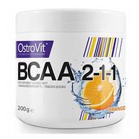 BCAA аминокислоты OstroVit BCAA 2-1-1 (200 г)