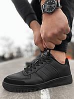 Мужские кроссовки Air Force черные Аир форс