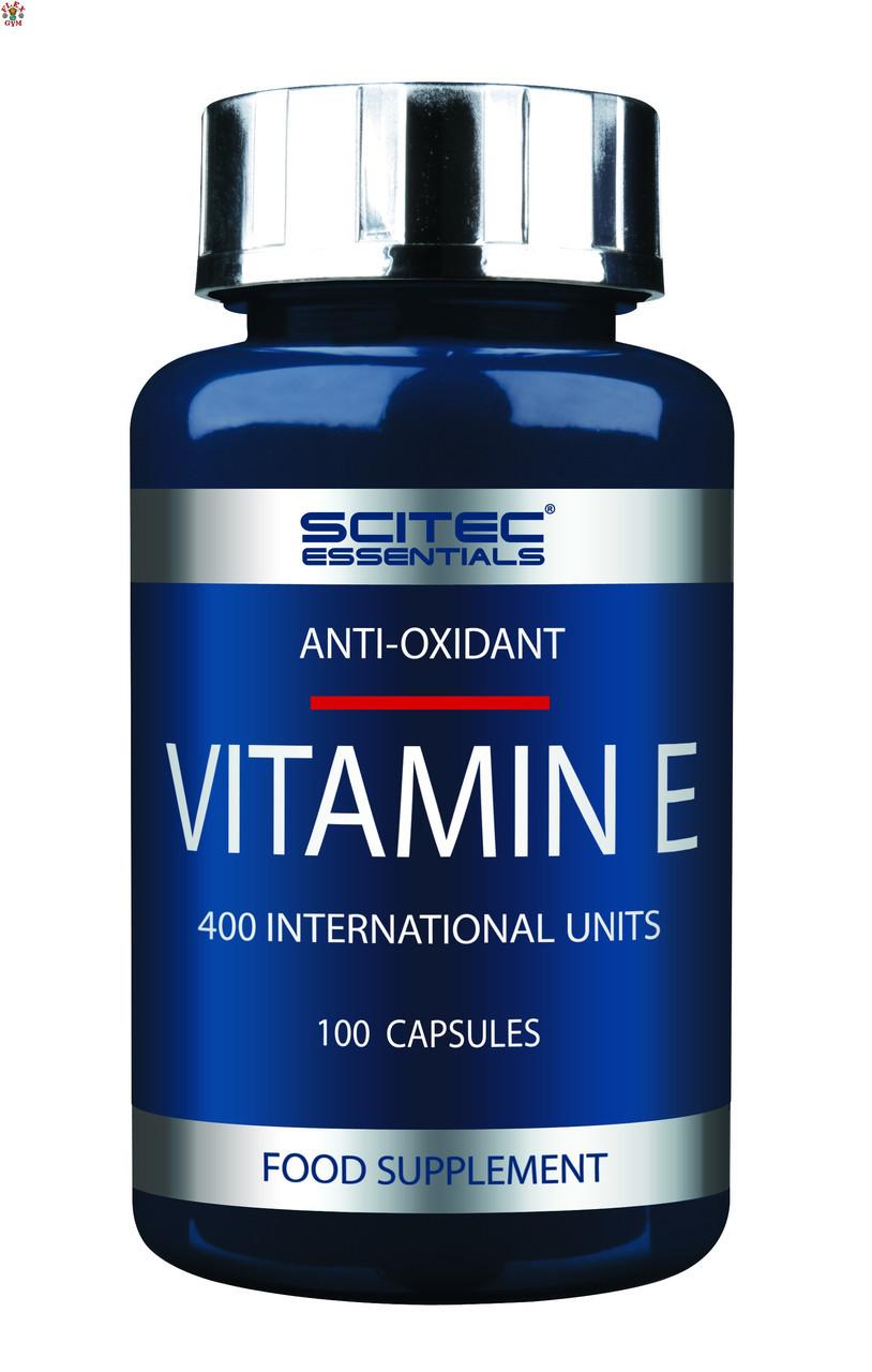Витамин Е Scitec Essentials Vitamin E (100 капс)