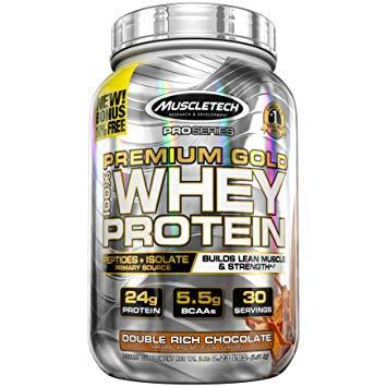 Протеин MuscleTech Pro Series Premium Gold 100% Whey Protein (997 г)