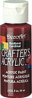 Акриловая краска Crafter's DCA63-3 Красная птица 60 мл