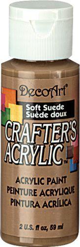 Акриловая краска Crafter's DCA60-3 Мягкий коричневый 60 мл