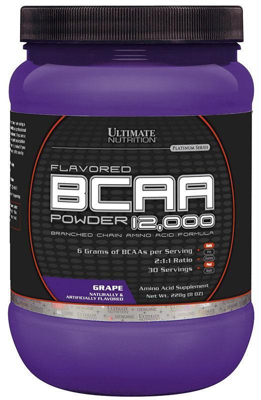 BCAA аминокислоты Ultimate Nutrition BCAA 12,000 (228 г)