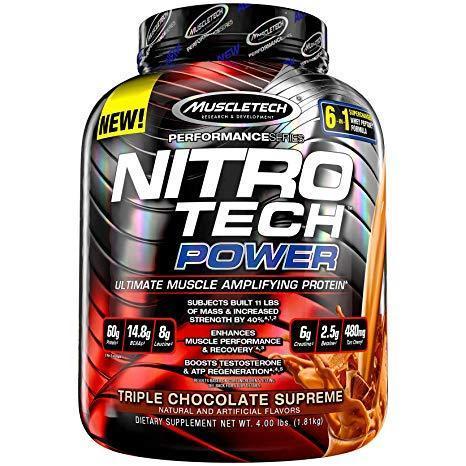 Протеин MuscleTech Nitro Tech POWER (1,8 кг)
