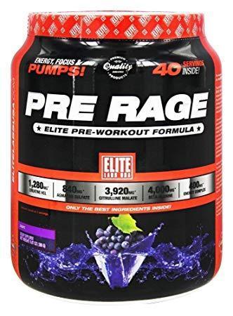 Предтренировочный комплекс Elite Labs USA Pre Rage (280 г)