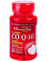 Антиоксидант для поддержки сердечно-сосудистой системы Puritan's Pride Q SORB Co Q 10 30 мг plus L-Carnitine