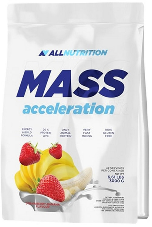 Гейнер All Nutrition Mass Acceleration 3000 (3000 г)