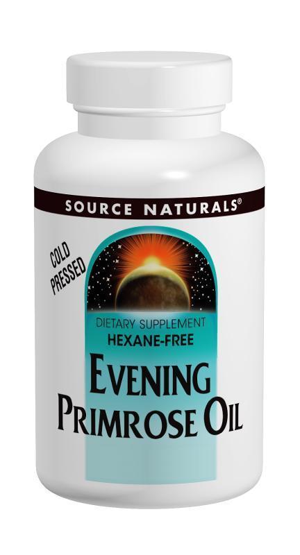 Препарат для для устранения кожных заболеваний Source Naturals Evening Primrose Oil 1350 мг (60 желатиновых