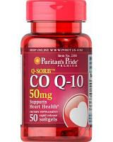 Антиоксидант для поддержки сердечно-сосудистой системы Puritan's Pride Q-SORB Co Q-10 50 mg (100 капс)
