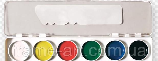 Акварельные краски ЛК 6 цв. + кисточка пони №2