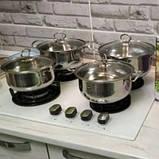 Набор кастрюль из нержавеющей стали Royal Queen и в подарок Кухонные весы SF-400 10 кг SKL11-276417, фото 2