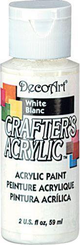 Акриловая краска Crafter's DCA01-3 Белый матовый 59 мл