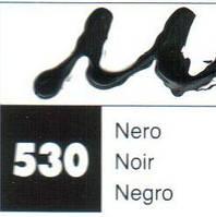 Контур по стеклу и керамике 20мл 530 Черный, Maimeri