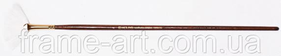 Синтетика веерная Snow 1098FN №4 д.р.кисть KOLOS