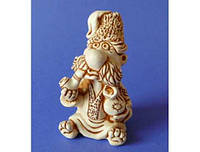 Фигурка ручной рабты, гипс n01101-03 Казак с трубкой
