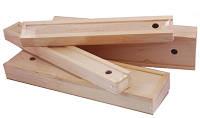 Пенал для кисточек деревянный 35*9.8*4см ПК4 Rosa