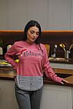 Женская домашняя пижама супер качества со штанами новогодние разные принты, фото 5