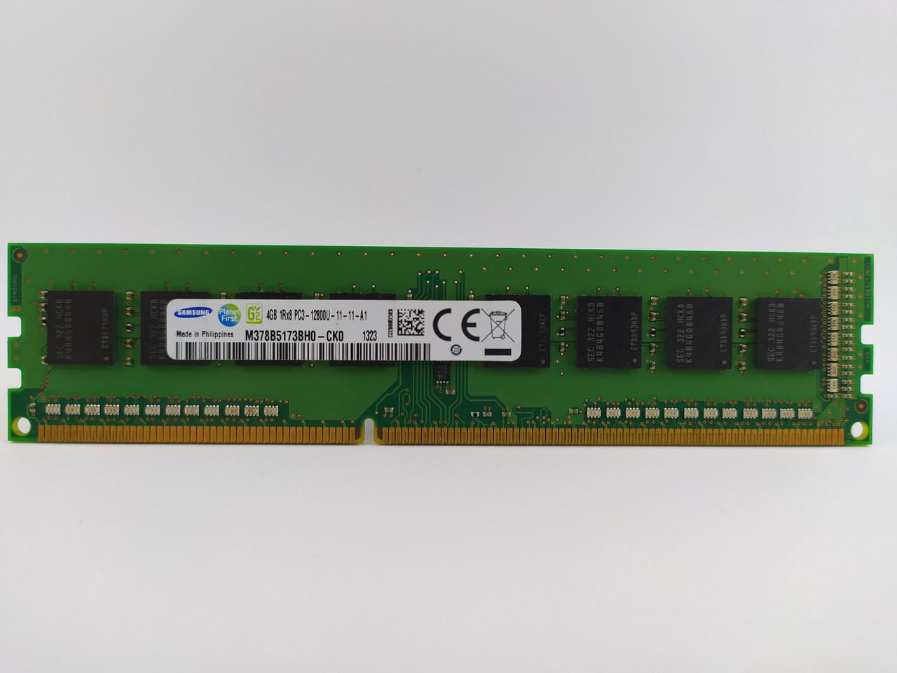 Оперативная память Samsung DDR3 4Gb 1600MHz PC3-12800U (M378B5173BH0-CK0) Б/У