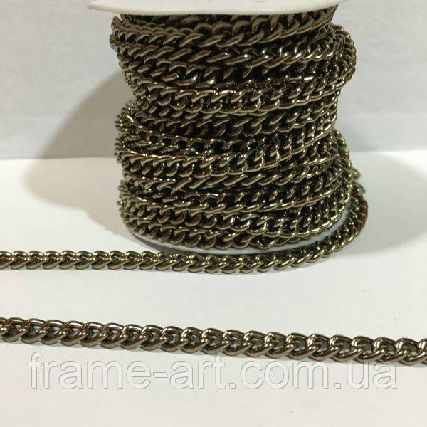 Цепь № MIX30 7*9мм бронза 1м (14м)