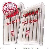 Иглы машинные ORGAN (Япония) UNIVERSAL для бытовых швейных машин №100/16 5шт