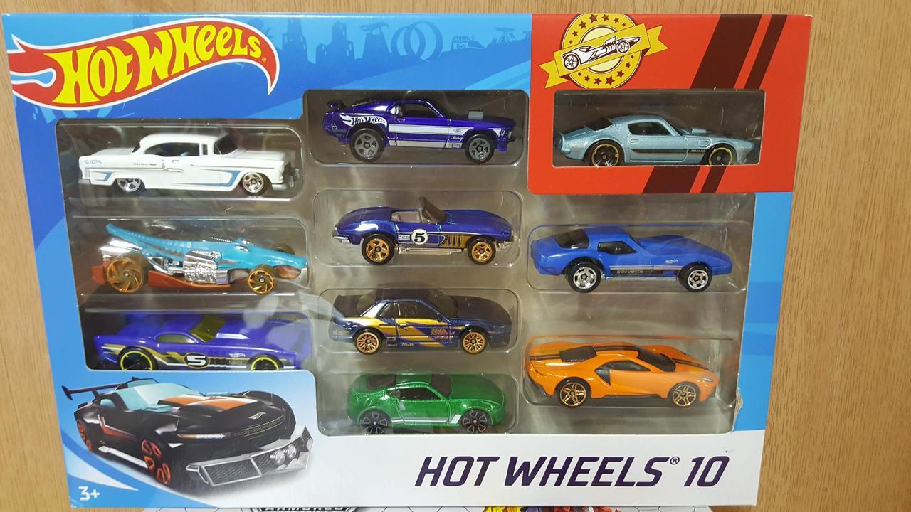 Набор Машинки Хот Вилс 10 штук  Hot Wheels Оригинал из США